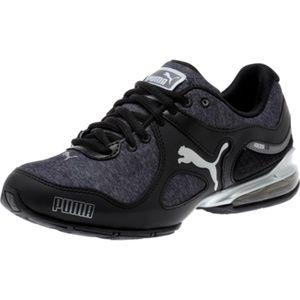 PUMA Cell Riaz Women Cross-Training Black Shoes